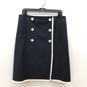 Talbots A-line skirt Navy Blue skirt